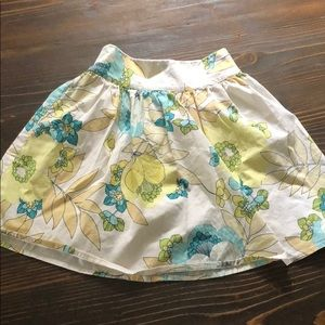 Wrapper Bottoms - Girls floral skirt
